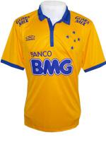 Camisa Jogo 3 Cruzeiro 2014 Olympikus Amarela