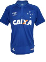 Camisa Juvenil Jogo 1 Cruzeiro Umbro 2016 Azul