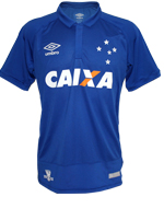 Camisa Jogo 1 Cruzeiro Umbro 2016 Azul N10 Game
