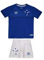Kit Cruzeiro Infantil I 18/19 Umbro
