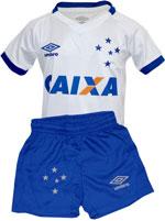 Kit Infantil Jogo 2 Cruzeiro 2017 Umbro