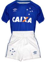 Kit Infantil Jogo 1 Cruzeiro 2016 Umbro