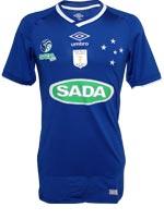 Camisa Sada Cruzeiro Vôlei Umbro Azul