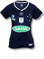 Camisa Feminina Sada Cruzeiro Vôlei Umbro Marinho