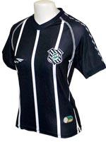Camisa Feminina Figueirense Penalty 2012 Preta