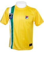Camisa Fila Masculina Brasil - Amarela