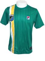 Camisa Fila Masculina Brasil - Verde