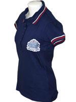 Camisa Polo Feminina Fila England Marinho