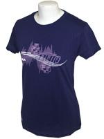 Camisa Fila Feminina Run Love Roxa