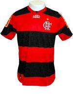 Camisa de Jogo Flamengo 2012 Olympikus Listrada