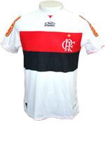 Camisa de Jogo Flamengo 2012 Olympikus Branca