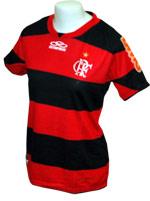 Camisa Feminina Flamengo 2012 Olympikus Listrada