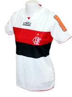 Camisa Feminina Flamengo 2012 Olympikus Branca