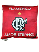 Almofada Flamengo Amor Eterno