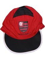 Bon� para beb� Flamengo - Vermelho/Preto