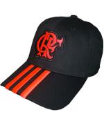 Boné Flamengo 3S Adidas Preto