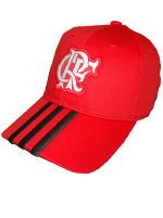 Boné Flamengo 3S Adidas Vermelho