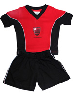 Conjunto Masculino 2 Pe�as com Short Flamengo