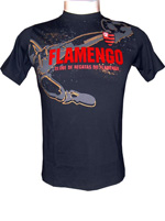 Camisa Flamengo Fuss Infantil - Preto