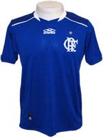 Camisa de Goleiro Flamengo 2012 Olympikus Azul