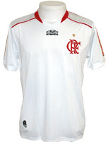 Camisa de Goleiro Flamengo 2012 Olympikus Branca