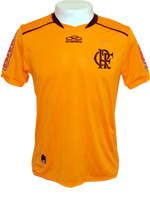 Camisa Goleiro Juvenil Flamengo 2012 OLK Laranja