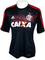 Camisa Jogo 3 Flamengo Adidas 2013 Preta
