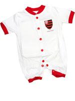 Macacão Curto Torcida Baby Flamengo