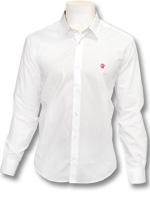 Camisa Social Palla D'oro Flamengo Branca