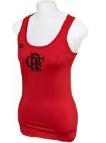 Regata B�sica Feminina Flamengo Vermelha