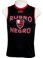 Regata Rubro Negro - Preto e Vermelho