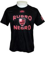 Camisa T-shirt Rubro Negro-Flamengo-Preto