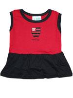 Vestido Bebê Torcida Baby Flamengo
