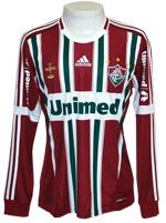 Camisa Fluminense Adidas 2012 Listrada M. Longa
