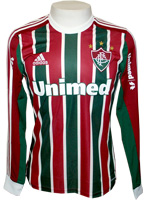 Camisa Fluminense Adidas 2013 Listrada M. Longa