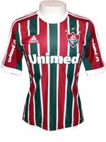 Camisa de Jogo Fluminense Adidas 2013 Listrada