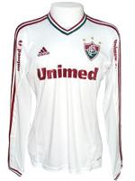 Camisa Fluminense Adidas 2013 Branca M. Longa