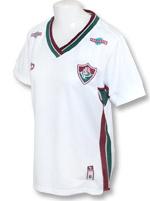 Camisa Jogo Fluminense Fem 2016 Dryworld Branca