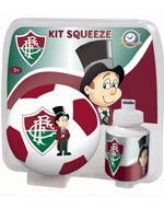 Kit Blister Mini Bola com Squeeze Fluminense
