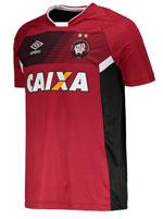 Camisa de Treino Atlético PR 2017 Umbro Vermelha