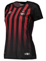Camisa Jogo 1 Feminina 2017 Atlético PR Umbro List