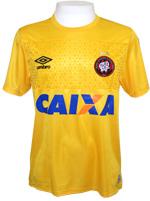 Camisa de Goleiro Atlético PR 14/2015 Umbro Amarel