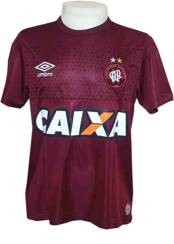 058078c41d Camisa de Goleiro Atlético PR 14 2015 Umbro Vinho
