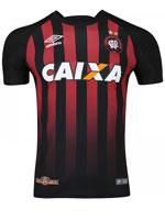 Camisa Jogo 1 Atlético PR 2017 Umbro Listrada