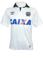 Camisa Jogo 2 Atl�tico PR 2014 Umbro Branca