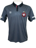 Camisa Polo Masculina Atlético PR Umbro Cinza