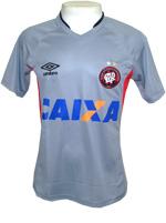 Camisa de Treino Atlético PR 14/2015 Umbro Cinza