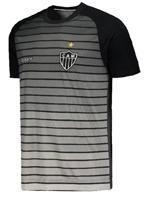 Camisa Aquecimento Atlético MG 2017 Topper Cinza