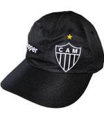 Boné Atlético MG Oficial CT 2017 Topper Preto