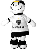 Boneco Junior Torcida Baby Atlético Mineiro
